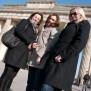 Nicole Obert, Claudia Zoellner, Andrea Skoreny, Berlin 2011, Brandenburger Tor, NederObert