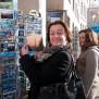 Nicoel Obert und Andrea Skoreny, Berlin, Shoppen, NederObert