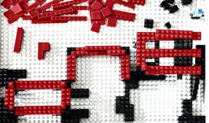 Lego-Baustelle